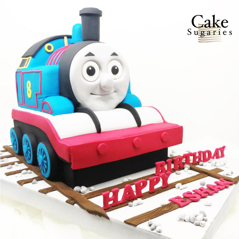 Thomas train cake 01