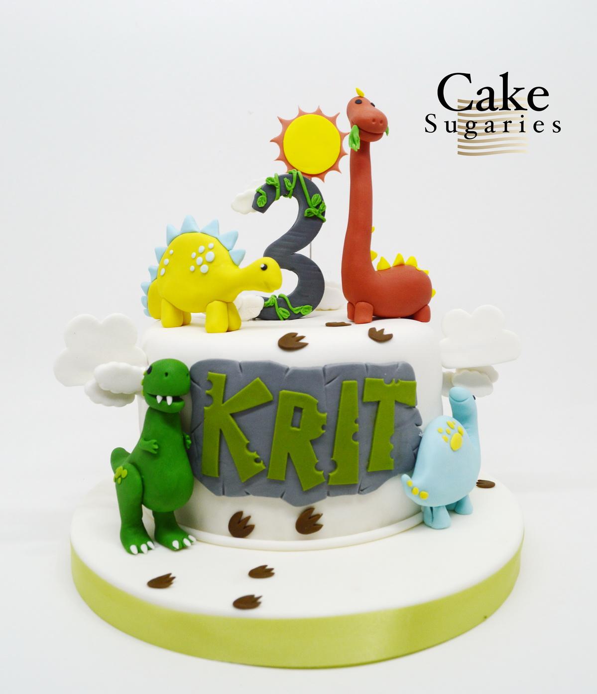 เค้กไดโนเสาร์-11