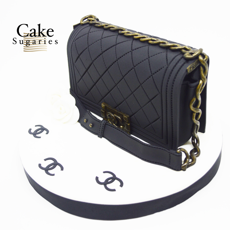 Handbag cake 009