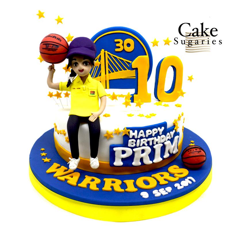 Basketball cake 01