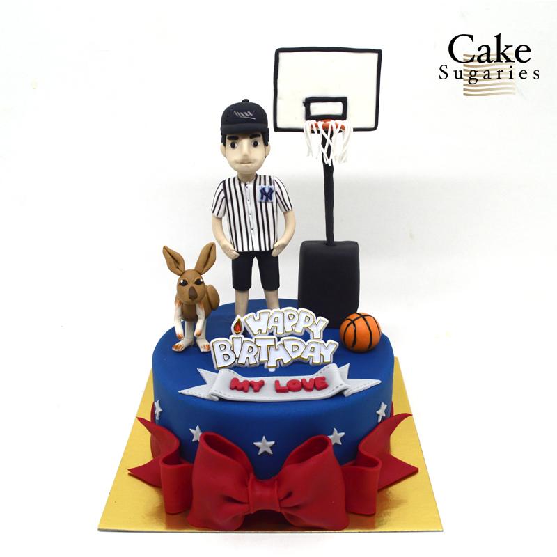 Basketball cake 05