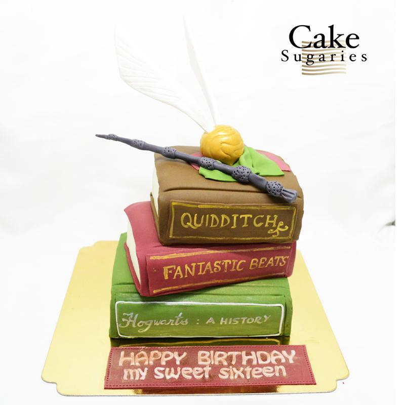 Harry potter cake 04