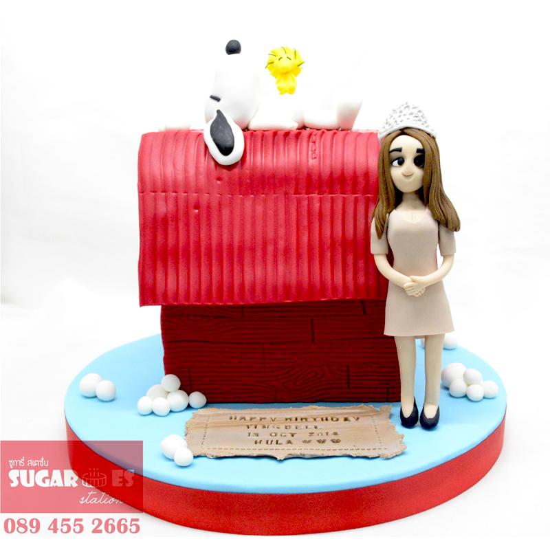 Snoopy cake (2)