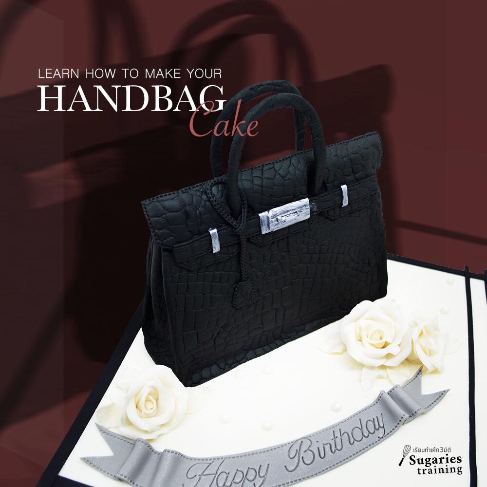 Handbag cake course
