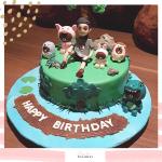 Bear cake 03