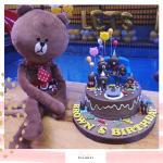 Bear cake 04