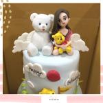Bear cake 08
