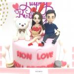 Bear cake 10