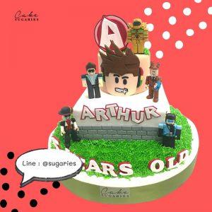 Lego cake 02