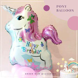 Balloon pony